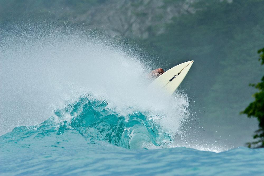 A surf safari to the Osa Peninsula, in southern Costa Rica on a 40 ft catamaran.