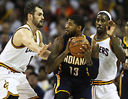Indiana Pacers vs. Cleveland Cavaliers 17 Apr 2017