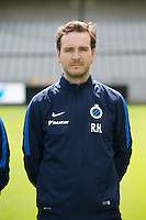 Club's mental coach Rudy Heylen poses for the photographer during the 2015-2016 season photo shoot of Belgian first league soccer team Club Brugge, Friday 17 July 2015 in Brugge
