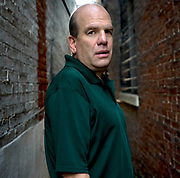 David Simon, TIm Knox, Baltimore, Outside the office for the Wire, The Wire.