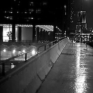 12/16/06 Chicago, IL Downtown Chicago rainy night..(Chris Machian/ Prairie Pixel Group)..
