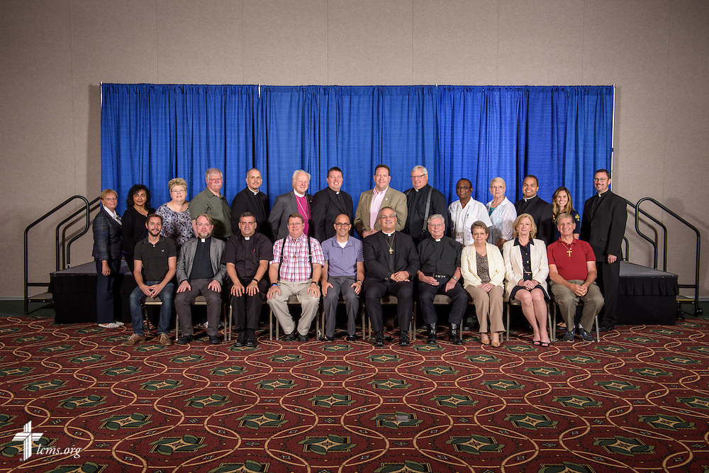 The Atlantic District group photograph on Wednesday, July 13, 2016, at the 66th Regular Convention of The Lutheran Church–Missouri Synod, in Milwaukee. LCMS/Erik M. Lunsford