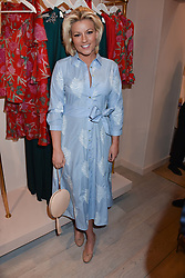 Natalie Rushdie at the launch of the Beulah Flagship store, 77 Elizabeth Street, London England. 16 May 2018.