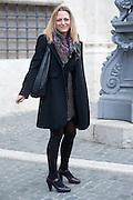 2013/03/19 Roma, parlamentari in Piazza Montecitorio. Nella foto Cristina Bargero.<br /> Rome, parliamentarians in Montecitorio Square. In the picture Cristina Bargero - &copy; PIERPAOLO SCAVUZZO