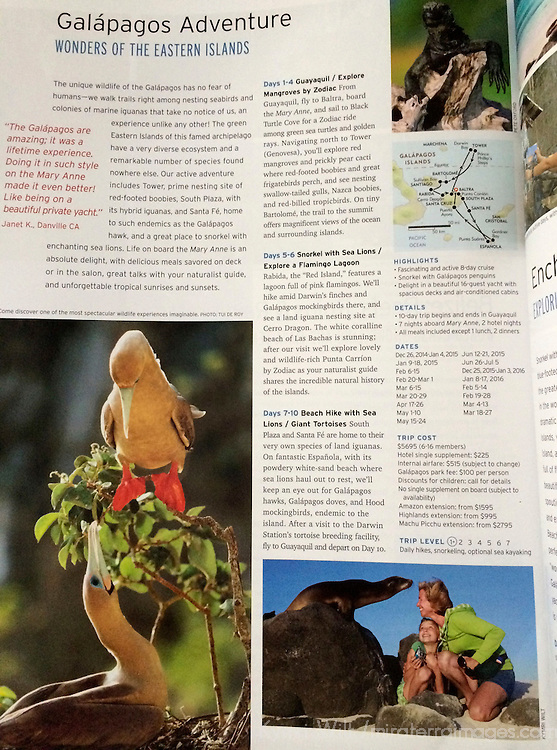 Wilderness Travel 2015 Brochure