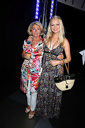 HANNAH SANDLING and her mother VICKI SANDLING at a party to celebrate the launch of Billionaire Boys Club Ice Cream Season 7 at Harvey Nichols, Knightsbridge, London on 18th June 2008.<br />