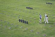 Cimetière militaire allemand de la Cambe.