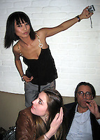 *EXCLUSIVE**.Dominik Garcia, Andy Garcia & Bai Ling.Unik's Karaoke Sunday Party.New York, NY, USA .Sunday, April, 29, 2007.Photo By Celebrityvibe.To license this image call (212) 410 5354 or;.Email: celebrityvibe@gmail.com; .