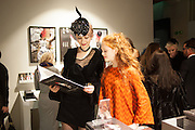 ALEXIA WIGHT; HELENA BARLOW, Isabella Blow: Fashion Galore! private view, Somerset House. London. 19 November 2013