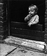 Slum child, England 1950s