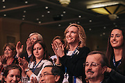 Attendees stand a clap for Sen. Rand Paul (R-KY) as he speaks during day two of the Conservative Political Action Conference (CPAC) at the Gaylord National Resort & Convention Center in National Harbor, Md.