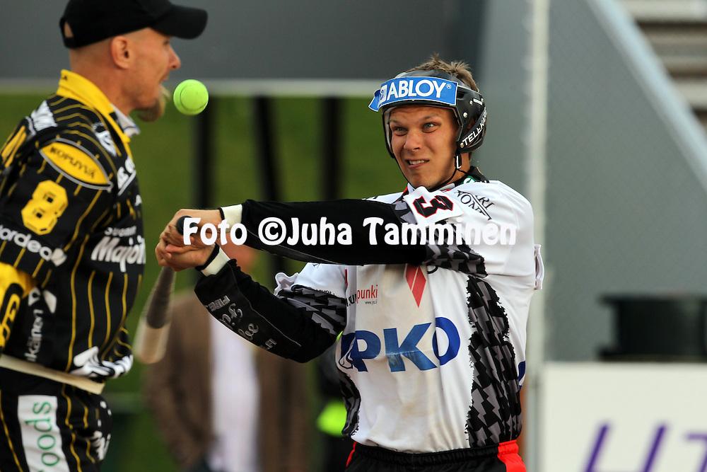 14.6.2011, Kouvola..Superpesis 2011, Kouvolan Pallonly?j?t  - Joensuun Maila..Joni Nousiainen - JoMa...