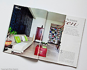 Publication of apartment interior in Czas na Wnetrze magazine photography by Piotr Gesicki