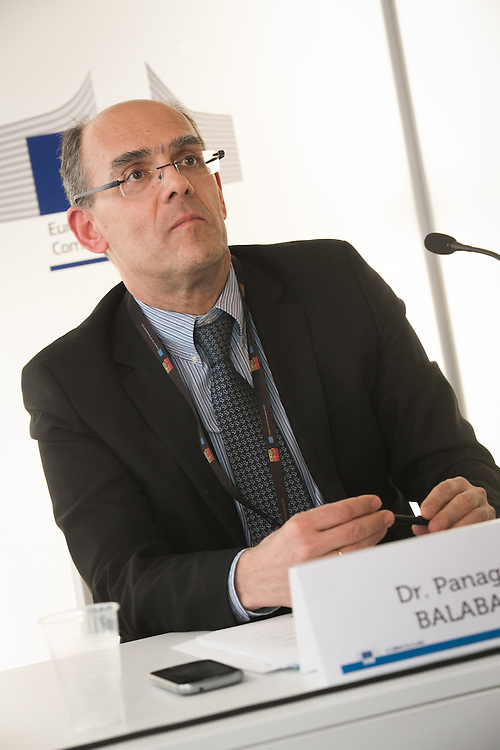 04 June 2015 - Belgium - Brussels - European Development Days - EDD - Climate - A plan for safer water supplies and sanitation in Africa - Panagiotis Balabanis ,<br /> Policy Officer, Directorate-General for Research and Innovation, European Commission &copy; European Union