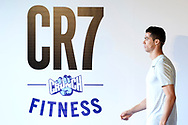 Cristiano Ronaldo attended the Presentation of CR7 Crunch Fitness on March 13, 2017 in Madrid