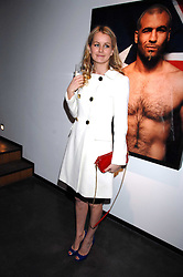 EMMA PARKER-BOWLES at a private view of Octagan a showcase of work of photographer Kevin Lynch featuring the stars of the Ultimate Fighter Championship held at Hamiltons gallery, Mayfair, London on 17th January 2008.<br /><br />NON EXCLUSIVE - WORLD RIGHTS