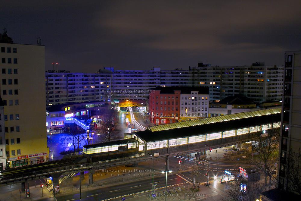 A trainstation in Kreuzberg
