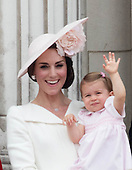 Royal Family Balcony at Buckingham Palace