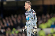 Rob Elliot (Newcastle United) during the Barclays Premier League match between Everton and Newcastle United at Goodison Park, Liverpool, England on 3 February 2016. Photo by Mark P Doherty.