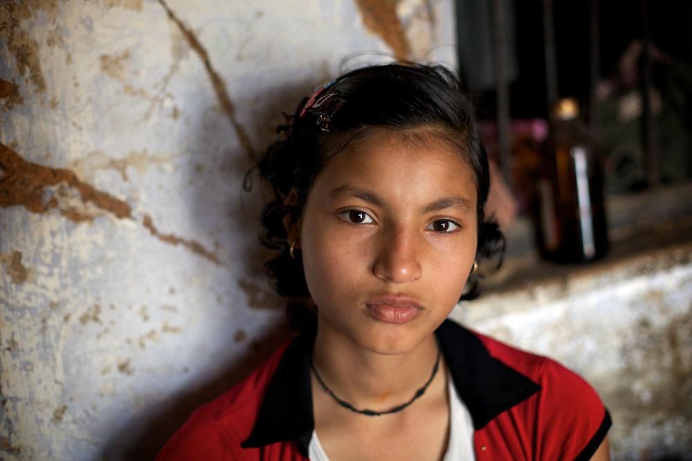 Indian Girl. Varanasi, India.
