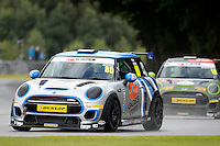 #80 Nick Boon Mini F56 JCW during the MINI Challenge - JCW at Oulton Park, Little Budworth, Cheshire, United Kingdom. August 20 2016. World Copyright Peter Taylor/PSP.