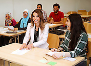 Queen Rania Visits German Jordan University