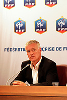 FOOTBALL - MISCS - FEDERATION FRANCAISE DE FOOTBALL PRESS CONFERENCE - PARIS - FRANCE - 9/07/2012 - PHOTO JULIEN BIEHLER / DPPI - PRESENTATION DIDIER DESCHAMPS
