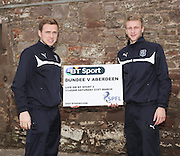Greg Stewart and Scott Bain - Dundee v Aberdeen pre-match press <br /> <br />  - &copy; David Young - www.davidyoungphoto.co.uk - email: davidyoungphoto@gmail.com