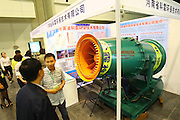 ZHENGZHOU, CHINA - SEPTEMBER 25: (CHINA OUT) <br /> <br /> Anti-fog Machines<br /> <br /> Anti-fog machines, KLSW-60 remote spray machine is seen at an exhibition of environmental protection on September 25, 2014 in Zhengzhou, Henan province of China. Exhibition of environmental protection and energy saving was held at Zhengzhou International Exhibition Center. New energy saving technologies and environmental equipment are shown at the exhibition.<br /> ©Exclusivepix