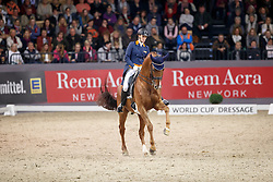 Witte-Vrees Madeleine, NED, Cennin<br /> FEI World Cup Dressage Grand Prix Freestyle<br /> FEI World Cup Neumünster - VR Classics 2017<br /> © Hippo Foto - Stefan Lafrentz