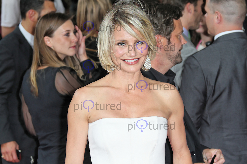 LONDON - MAY 22: Cameron Diaz attends the European Film Premiere of 'What To Expect When You're Expecting' at the BFI IMAX, London, UK. May 22, 2012. (Photo by Richard Goldschmidt)