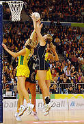 Casey Williams (NZ)<br /> Netball - Australia vs New Zealand<br /> 2007 International Test Series<br /> Vodafone Arena, Melbourne Australia<br /> Saturday 21 July 2007<br /> © Sport the library / Jeff Crow