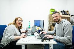 Official Opening of Mimovrste shop in BTC, on February 29, 2020 in Ljubljana, Slovenia. Photo by Vid Ponikvar / Sportida
