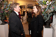 JOHN PAWSON; ALEX SHULMAN, Smythson Royal Wedding exhibition preview. Smythson together with Janice Blackburn has commisioned 5 artist designers to create their own interpretations of  Royal wedding memorabilia. Smythson. New Bond St. London. 5 April 2011.  -DO NOT ARCHIVE-© Copyright Photograph by Dafydd Jones. 248 Clapham Rd. London SW9 0PZ. Tel 0207 820 0771. www.dafjones.com.