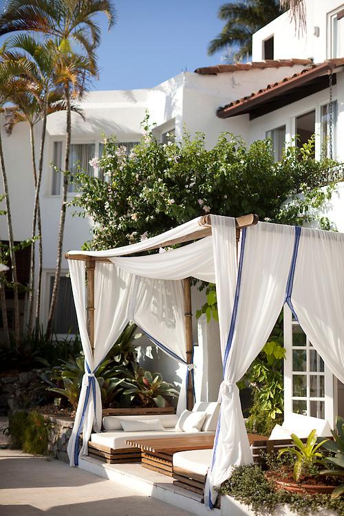 Terrance at Casa Brancas Boutique Hotel and Spa.