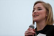 Kat Omencene, Ethics Case Competition. ©Ohio University/ Photo by Kaitlin Owens