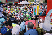 Limoux, Tour de France, 2012 stage 14, Riders waiting at the start
