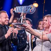 NLD/Baarn/20180410 - 2018 finale 'It Takes 2, Jamai Loman, Dionne Slagter en Gordon Heuckeroth