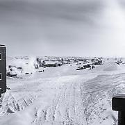 South Pole Backyard from Amundsen-Scott South Pole Station
