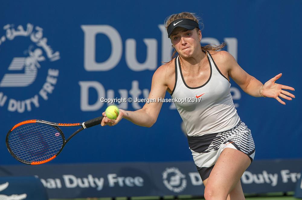 ELINA SVITOLINA (UKR)<br /> <br /> Tennis - Dubai Tennis Championships 2017 -  WTA -  Dubai Duty Free Tennis Stadium - Dubai  -  - United Arab Emirates  - 23 February 2017.