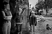 Small village story in Latvia with young people unemployed and lack of future.