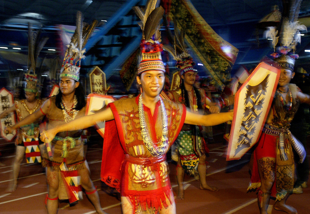 Cultural performance during citrawarna month, Malaysia