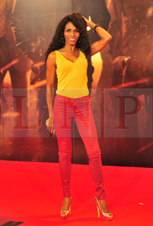 © Licensed to London News Pictures. 13/12/2011. London, England.Sinitta attends the UK premiere of Mission Impossible - Ghost Protocol at the IMAX in London .  Photo credit : ALAN ROXBOROUGH/LNP