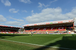 A general view of Ashton Gate - Photo mandatory by-line: Dougie Allward/JMP - Mobile: 07966 386802 - 21/03/2015 - SPORT - Football - Bristol - Ashton Gate Stadium - Bristol Academy v FFC Frankfurt - UEFA Women's Champions League - Quarter Final - First Leg