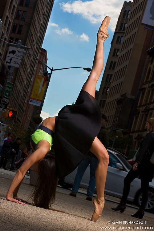 New York City Dance As Art Photography Project featuring ballerina Sabrina Imamura