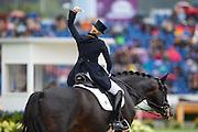 Jessica von Bredow Werndl - Unee BB<br /> FEI European Championships Aachen 2015<br /> © DigiShots