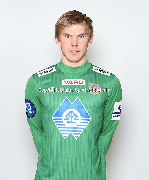 Fotball , Eliteserien , Tippeligaen  2015 , portrett , portretter<br /> Aalesund<br /> Andreas Lie
