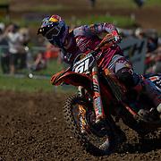 Jorge Prado on track at Matterley Basin.