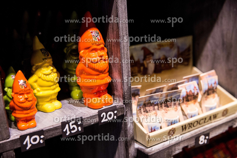 Dwarf's shop in City centre of Wroclaw, on January 19, 2016 in Wroclaw, Poland. Photo by Vid Ponikvar / Sportida