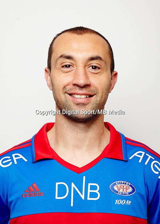 Fotball..Tippeligaen..Portrett portretter..Vålerenga VIF 2013..Bojan Zajic..Foto: Eirik Førde
